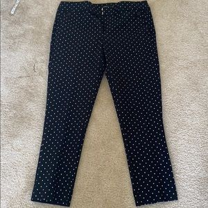 New without tags Loft Julie Skinny pants dark navy